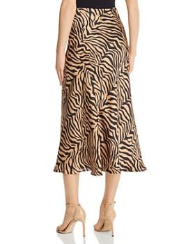 Bardot - Zebra Print Slip Skirt