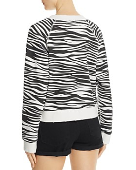 Pistola - Zebra Print French Terry Sweatshirt
