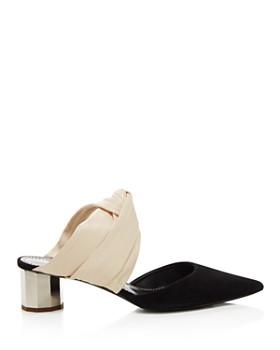 Proenza Schouler - Women's Knotted Block Heel Mules