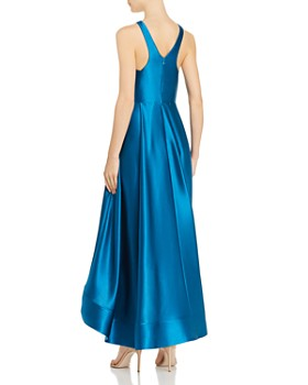 Aidan by Aidan Mattox - Liquid Satin Cutout Gown