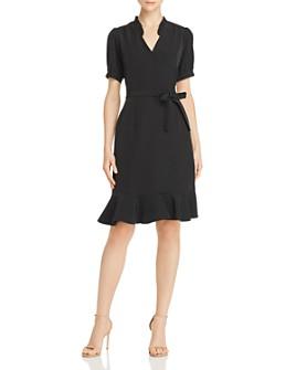 nanette Nanette Lepore - Flounced Wrap-Style Dress