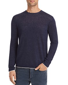 rag & bone - Trent Contrast-Trimmed Sweater