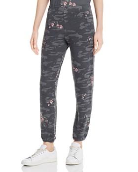 Monrow - Floral Camo Sweatpants
