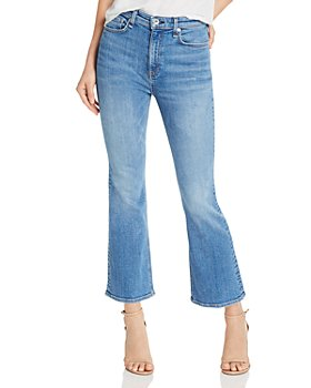 rag & bone - Nina High-Rise Ankle Flare Jeans in Gravel