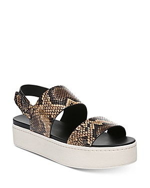 Vince Women's Westport Leather Platform Sandals