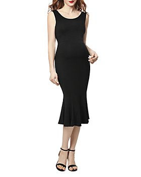 Kimi & Kai - Bria Sleeveless Mermaid Maternity Dress