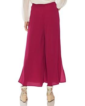 VINCE CAMUTO - Side-Slit Wide-Leg Pants