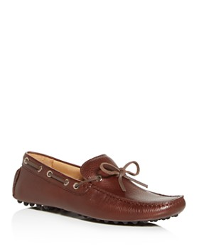 The Men's Store at Bloomingdale's - Men's Leather Tie Moc-Toe Drivers - 100% Exclusive