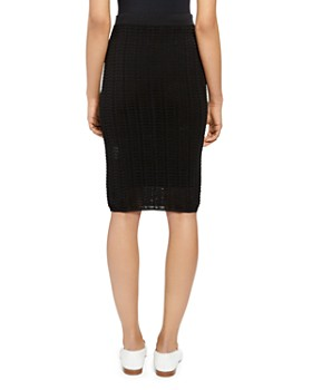 Theory - Lace Pencil Skirt