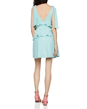 21932c56acd ... BCBGENERATION - Tie-Shoulder Striped Dress
