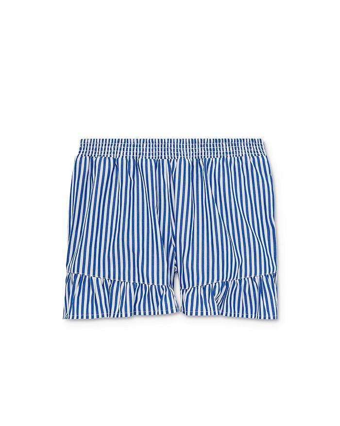 Ralph Lauren - Girls' Striped & Ruffled Shorts - Big Kid