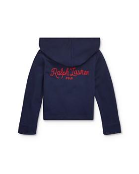 Ralph Lauren - Girls' French Terry Half-Zip Hoodie - Little Kid