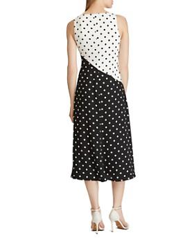 Ralph Lauren - Polka-Dot Crepe Dress