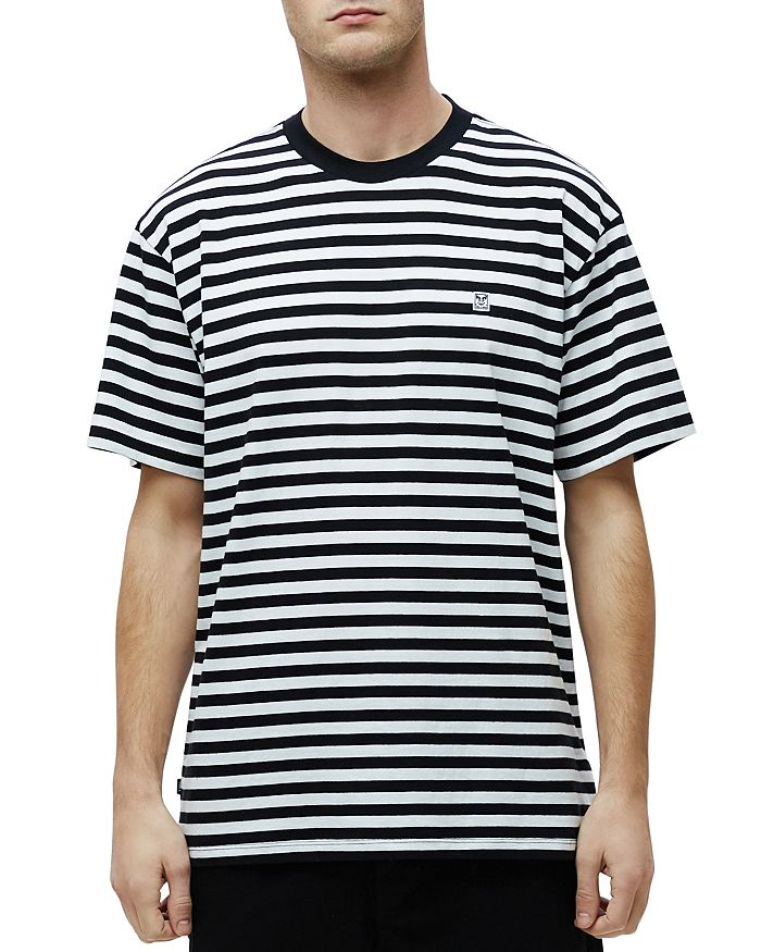 OBEY - Icon Box Striped Tee