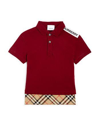 Burberry - Boys' Hammond Polo Shirt - Little Kid, Big Kid
