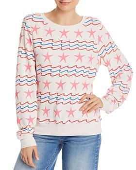 9871289aeb WILDFOX - Sea Stripes Sweatshirt ...
