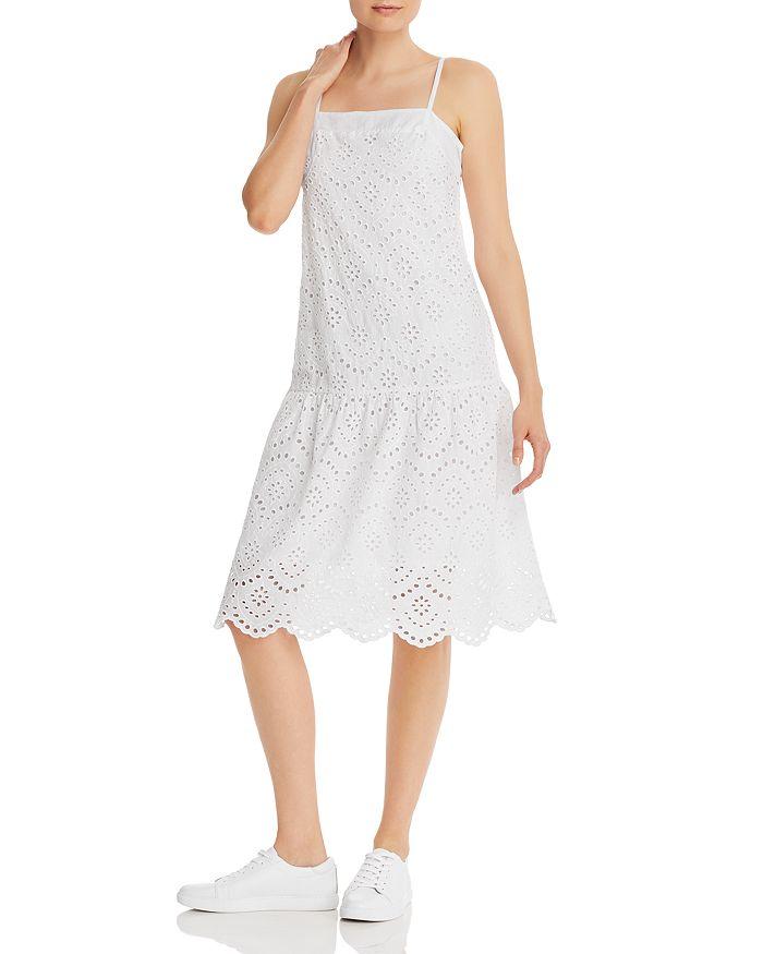 Nation LTD - Rayna Drop-Waist Eyelet Dress