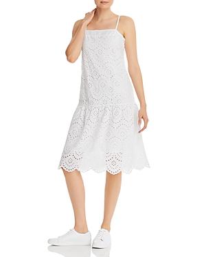 Nation Ltd Rayna Drop-Waist Eyelet Dress