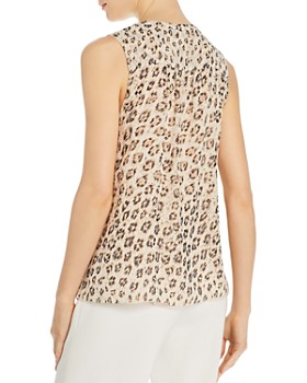 Joie - Corie Leopard-Printed Silk Top