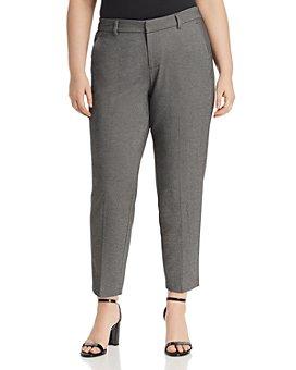 Liverpool Los Angeles Plus - Kelsey Micro-Check Pants