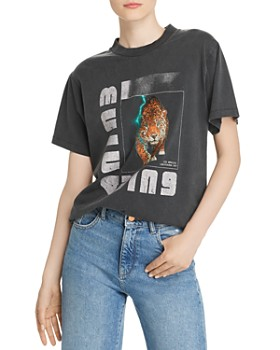 Anine Bing - Wild Cat Graphic Tee
