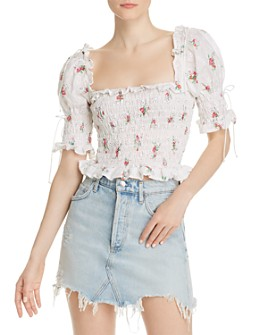 For Love & Lemons - Tarte Eyelet Top