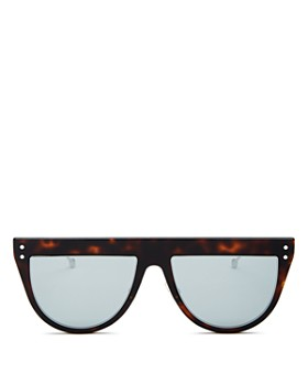 Fendi - Women's Shield Sunglasses, 55mm