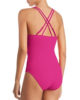 La Blanca - Island Underwire X Back One Piece Swimsuit