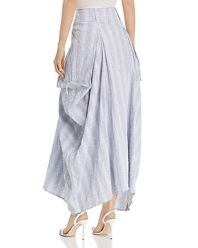 SNIDER - Rhone Ruched Maxi Skirt