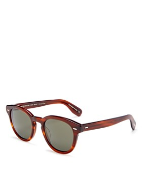 Oliver Peoples - Unisex Cary Grant Polarized Round Sunglasses, 50mm