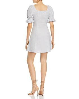 The Fifth Label - Savannah Striped Button-Down Mini Dress