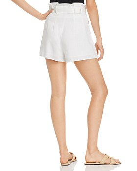 Charlie Holiday - Bayview High Ruffled-Waist Mini Shorts