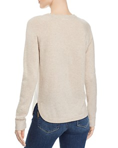 Minnie Rose - Color-Block Cashmere Sweater