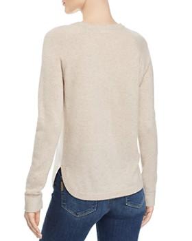 Minnie Rose - Color-Block Cashmere Sweater
