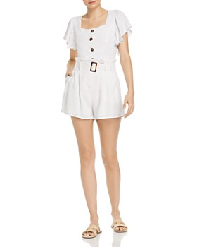 68bedd0a09cb Charlie Holiday - Charlie Holiday Cropped Top & High-Waisted Shorts ...