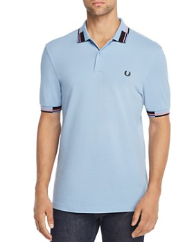 Fred Perry - Color-Block-Trimmed Regular Fit Piqué Polo Shirt