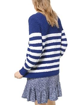 MICHAEL Michael Kors - Striped Cotton Sweater