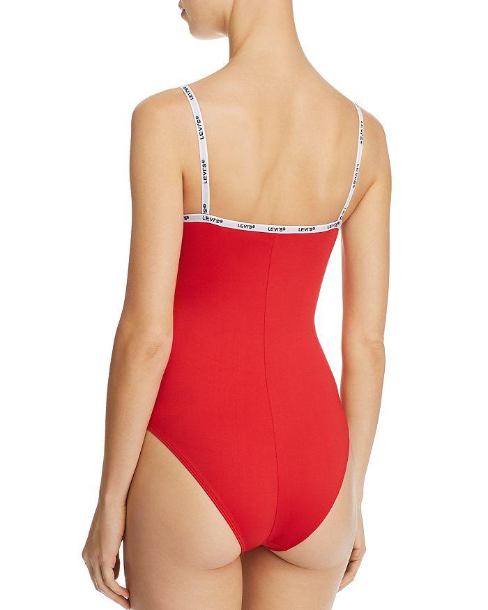19a53a9d Levi's Paige Logo-Trimmed Bodysuit | Bloomingdale's