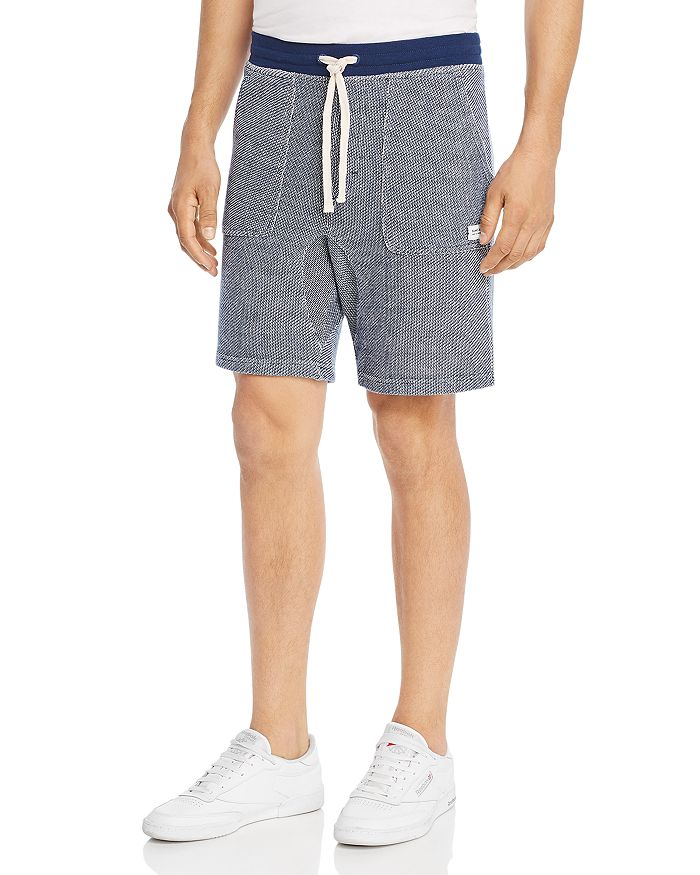 Banks Journal - Two-Tone Textured Shorts