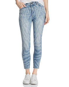 DL1961 - Farrow Crop Skinny Jeans in Sahara - 100% Exclusive