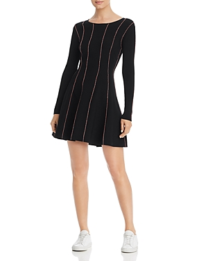 Escada Sport Dresses DOJA STRIPED MINI DRESS