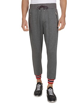 The Kooples - Striped-Cuff Drawstring Sweatpants