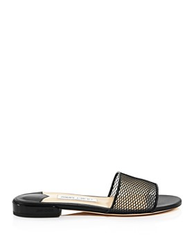 Jimmy Choo - Women's Joni Mesh Slide Sandals