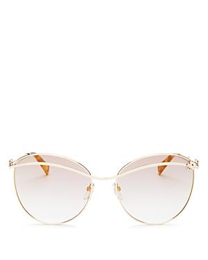 Marc Jacobs Women\\\'s Marc Daisy Aviator Sunglasses, 59mm