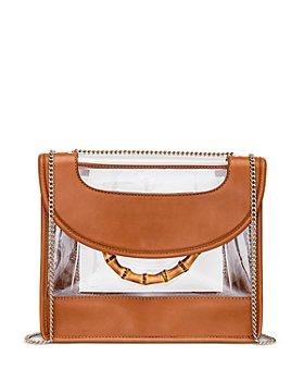 Loeffler Randall - Marla See-Through Leather Convertible Shoulder Bag