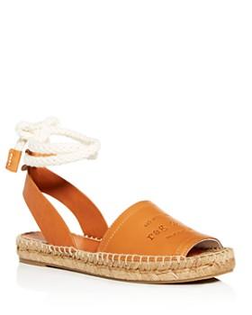 rag & bone - Women's Estelle Ankle-Tie Espadrille Sandals