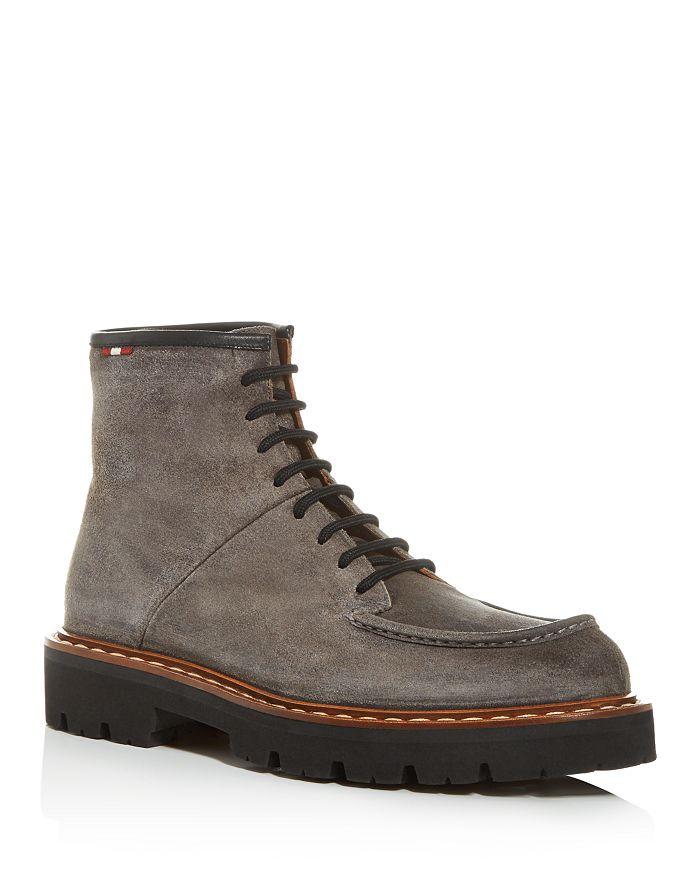 Bally - Men's Lybern Moc-Toe Suede Boots