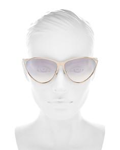 Dior - Women's Dior New Motard Cat Eye Sunglasses, 65mm
