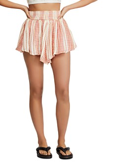 Free People - She Will Be Loved Striped Shorts