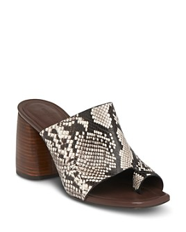 Whistles - Women's Acre Block Heel Mules